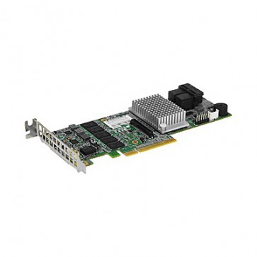 Supermicro AOC-S3108L-H8IR-16DD Low Profile 12Gb/s Eight-Port SAS Internal RAID Adapter