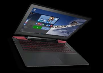 "Лаптоп LENOVO Y700-15ISK /80NV010DBM/, i7-6700HQ, 15.6"", 8GB, 1TB"