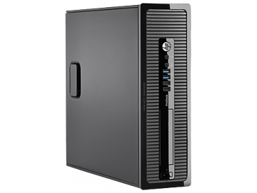 Десктоп компютър HP ProDesk 400 G1 Small Form Factor PC, G3220, 4 GB, 500GB, Win 7 Pro 64