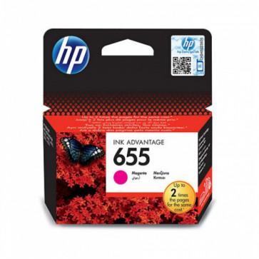 Консуматив HP 655 Magenta Original Ink Advantage Cartridge за мастиленоструен принтер