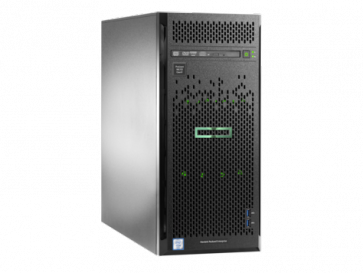 Сървър HPE ProLiant ML110 Gen9, E5-2620v4, 8GB, 1TB 6G SATA, B140i, DVD-RW, 2-Port 1GbE, 350W PS