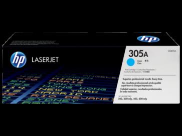 Консуматив HP 305A Cyan LaserJet Toner Cartridge за лазерен принтер