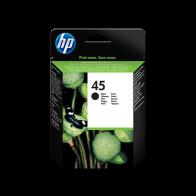 Консуматив HP 45 Large Black Original Ink Cartridge за плотер, за мастиленоструен принтер