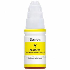 Консуматив CANON GI-490 YELLOW за мастиленоструен принтер