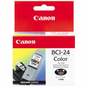 Консуматив Canon Canon BCI 24 - Ink tank yellow, cyan, magenta за мастиленоструен принтер
