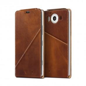 Калъф Notebook flip cover за Microsoft Lumia 950XL brown