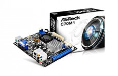Дънна платка ASROCK C70M1 AMD C-70 APU+A50M