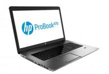 "Лаптоп HP ProBook 470 i3-3120M, 17.3"", 4GB, 750GB, Win8"