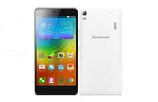 5,5-инчов смартфон LENOVO A7000 Dual SIM LTE (бял)