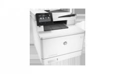Многофункционален лазерен принтер HP Color LaserJet Pro MFP M477fnw