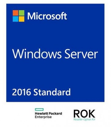 Софтуер HPE Microsoft Windows Server 2016 Standard Edition ROK 16 Core