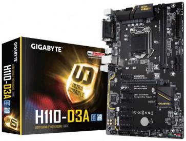 Дънна платка GB H110-D3A /6 X PCI-E /1151