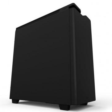 Кутия NZXT H440 Mid Tower, Matte Black / Black