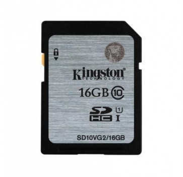 Флаш карта Kingston SDHC/SDXC Class 10 UHS-I Card 16GB