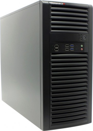 Кутия Supermicro CSE-732D4F-500B Black