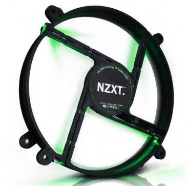 Вентилатор NZXT FS 200MM FAN GREEN LED