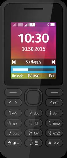 Мобилен телефон NOKIA 130 Dual SIM Black