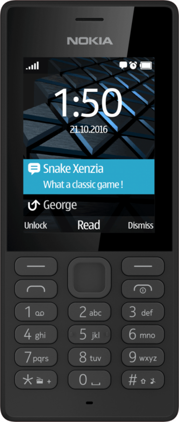 Мобилен телефон NOKIA 150 Dual SIM Black