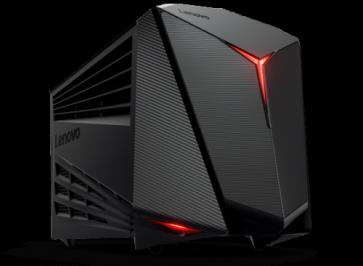 Десктоп компютър LENOVO Y720 CUBE /90H2002FRM/, i5-7400, 16GB, 1TB