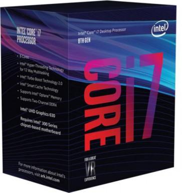 Процесор Intel Core I7-8700K / 3.7GHZ/12MB/BOX1151