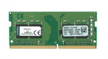Памет KINGSTON SODIMM 4GB DDR4 2400MHz