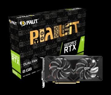 Видео карта PALIT RTX2070 DUAL V1 8GB D6