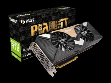 Видео карта PALIT RTX2080TI DUAL 11GB D6