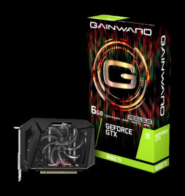 Видео карта GAINWARD GTX1660TI PEGASUS 6GB