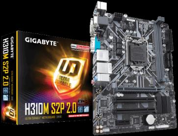 Дънна платка GIGABYTE H310M S2P 2.0