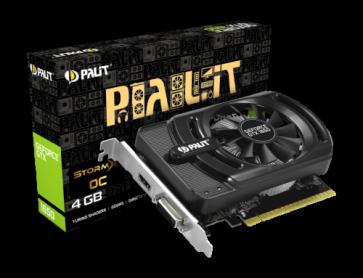 Видео карта PALIT GTX1650 STORMX OC 4GB D5
