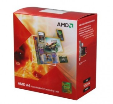 Процесор AMD A4-4000 X2 (1M Cache, up to 3.20 GHz)