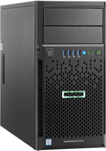Сървър HPE ProLiant ML30 G9, E3-1220v5, 8GB, B140i, 2х1TB, 4LFF, DVD-RW, 350W
