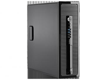 Десктоп компютър HP ProDesk 400 G1 Small Form Factor PC, G3220, 4 GB, 500GB, Win 7 Pro 64