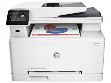 Многофункционален Лазерен принтер HP Color LaserJet Pro MFP M277n