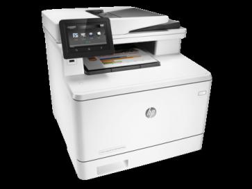 Многофункционален лазерен принтер HP Color LaserJet Pro MFP M477fdw