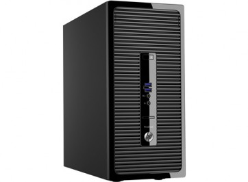 Десктоп компютър HP ProDesk 400 G3 Microtower PC, i7-6700, 8GB,  500GB, Win 7 Pro 64