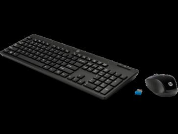 Безжична клавиатура и мишка HP Wireless Keyboard and Mouse 200