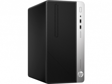 Десктоп компютър HP ProDesk 400 G5 Microtower PC, i3-8100, 8GB, 256GB