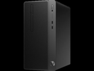 Десктоп компютър HP 290 G2 Microtower, i3-8100, 4GB, 1TB