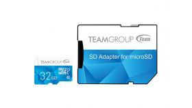 Флаш карта TEAM 32GB SDMICRO+ADAP CL10