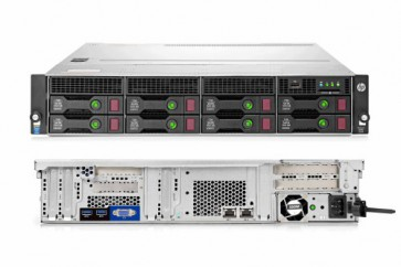 Сървър HPE ProLiant DL80 Gen9, E5-2609v4, 8GB-R, H240, 8LFF, 2x1Gb, 550W PS