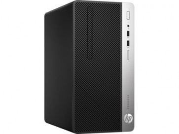 Десктоп компютър HP ProDesk 400 G4 Microtower PC, I5-7500, 4GB, 500G