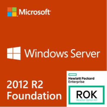 Софтуер HPE Microsoft Windows Server 2012 R2 Foundation Edition ROK