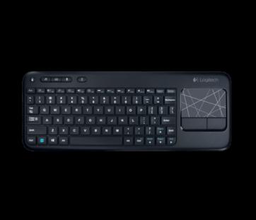 Клавиатура Logitech Wireless Touch Keyboard K400 Plus