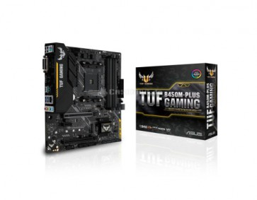 Дънна платка ASUS TUF B450M-PLUS GAMING