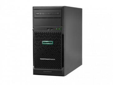 Сървър HPE ProLiant ML30 Gen10 E-2124 3.3GHz 4-core 1P 8GB-U S100i 4LFF NHP 350W PS