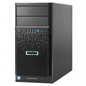 Сървър HPE ProLiant ML30 Gen9 E3-1220v6 1P 8GB-U B140i 4LFF HP SATA 350W