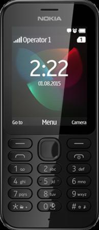 Мобилен телефон Nokia 222 Black