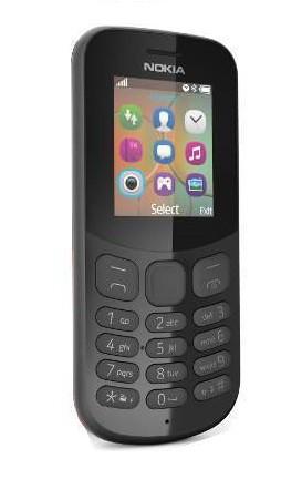 Мобилен телефон NOKIA 130 BLACK 2017