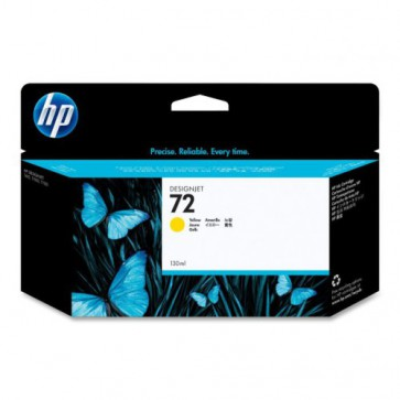 Консуматив HP 72 130-ml Yellow Ink Cartridge за плотер